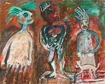 "Jon Serl (American/California, 1894-1993) ""Hippy"