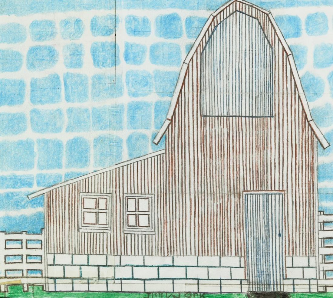 Jim Work (American, b. 1944) Barn