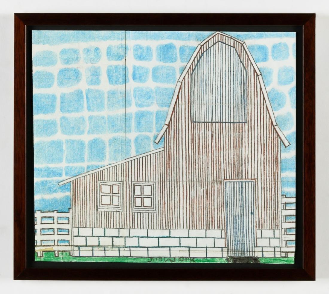 Jim Work (American, b. 1944) Barn - 2
