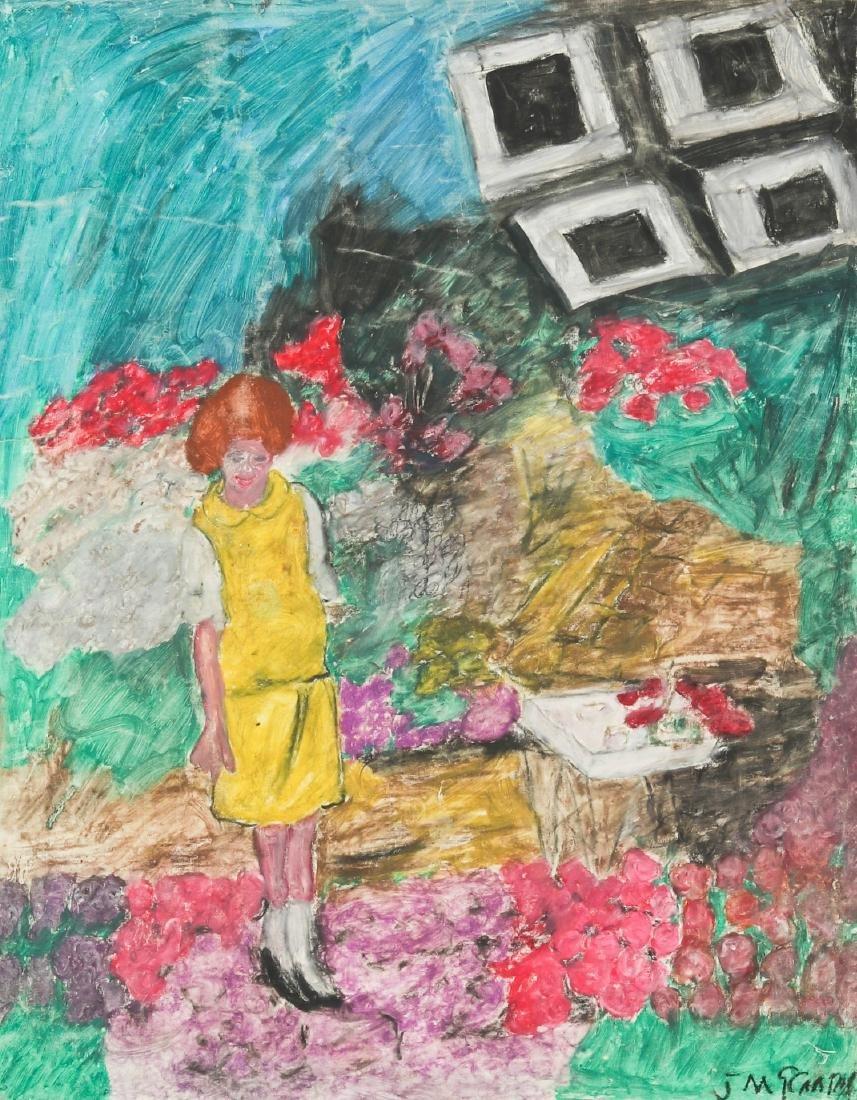 Justin McCarthy (1891-1977) International Flower Show,