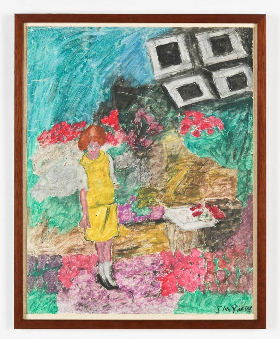 Justin McCarthy (1891-1977) International Flower Show, - 2