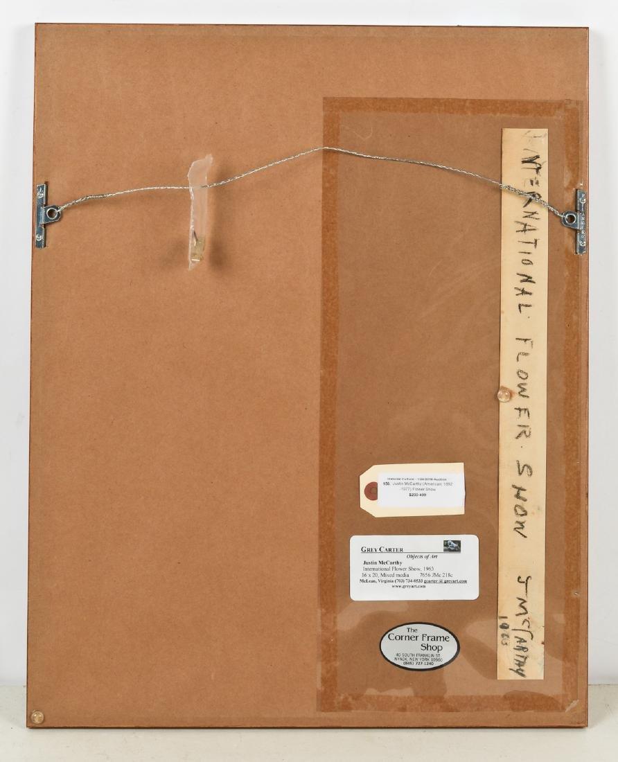 Justin McCarthy (1891-1977) International Flower Show, - 4