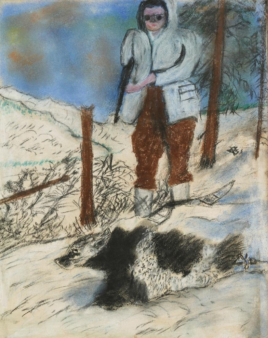 Justin McCarthy (1891-1977) Bear Hunter