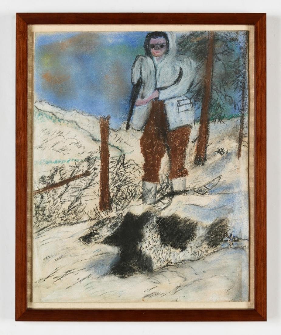 Justin McCarthy (1891-1977) Bear Hunter - 2