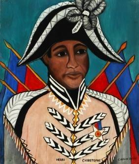 Castera Bazile (1923-1965) Self Portrait as Henri