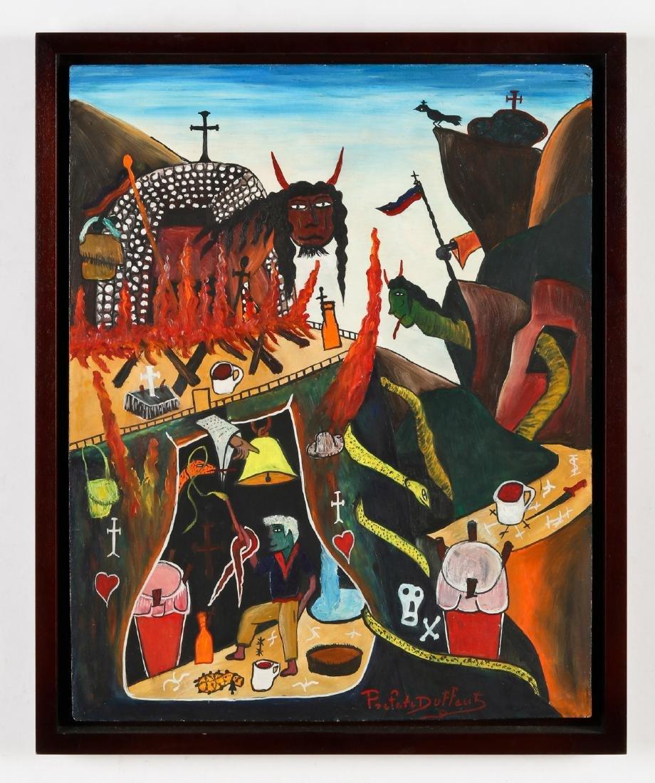 Préfète Duffaut (Haitian/Jacmel, 1923-2012) - 2