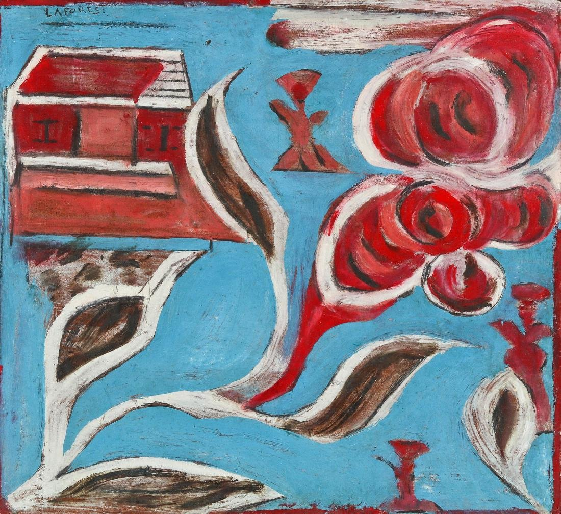 Wesner LaForest (Haitian, 1927-1965) House