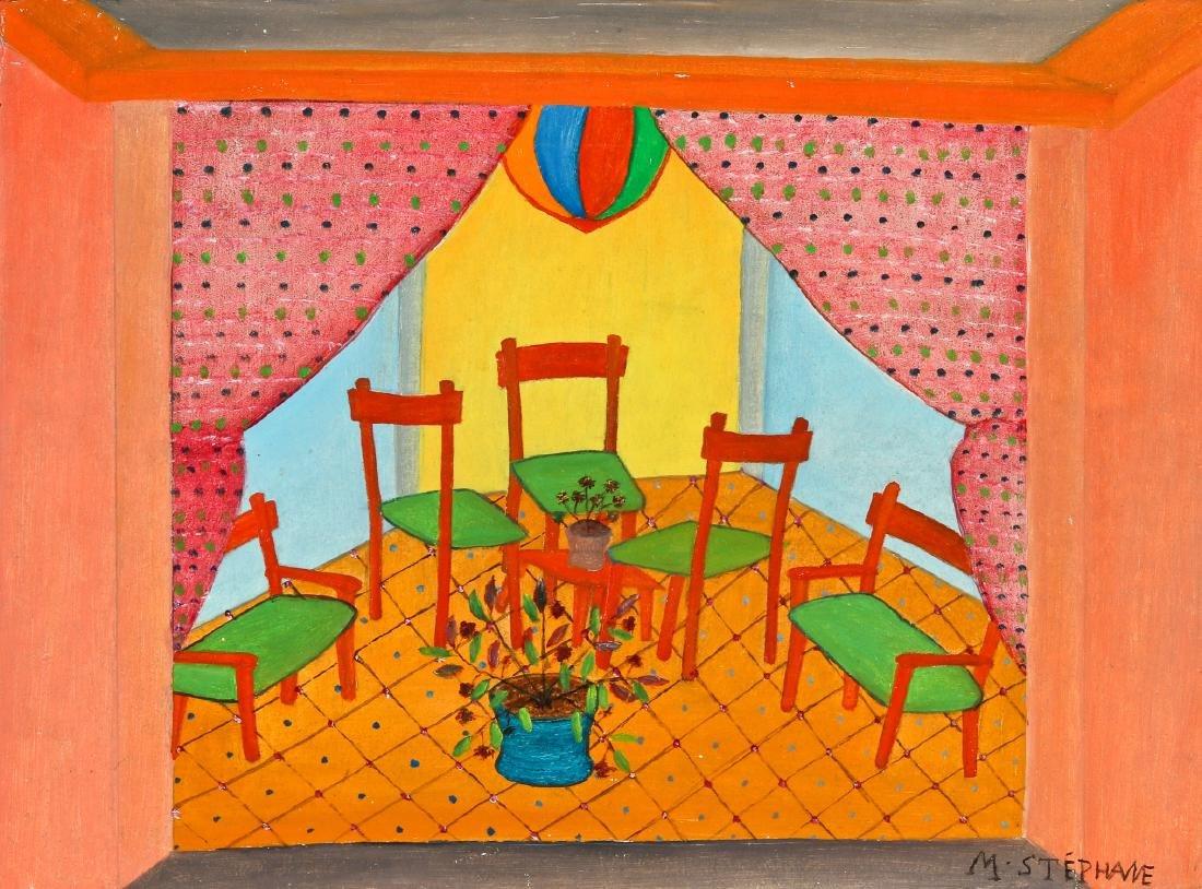 Micius Stéphane (1912-1996) Five Chairs