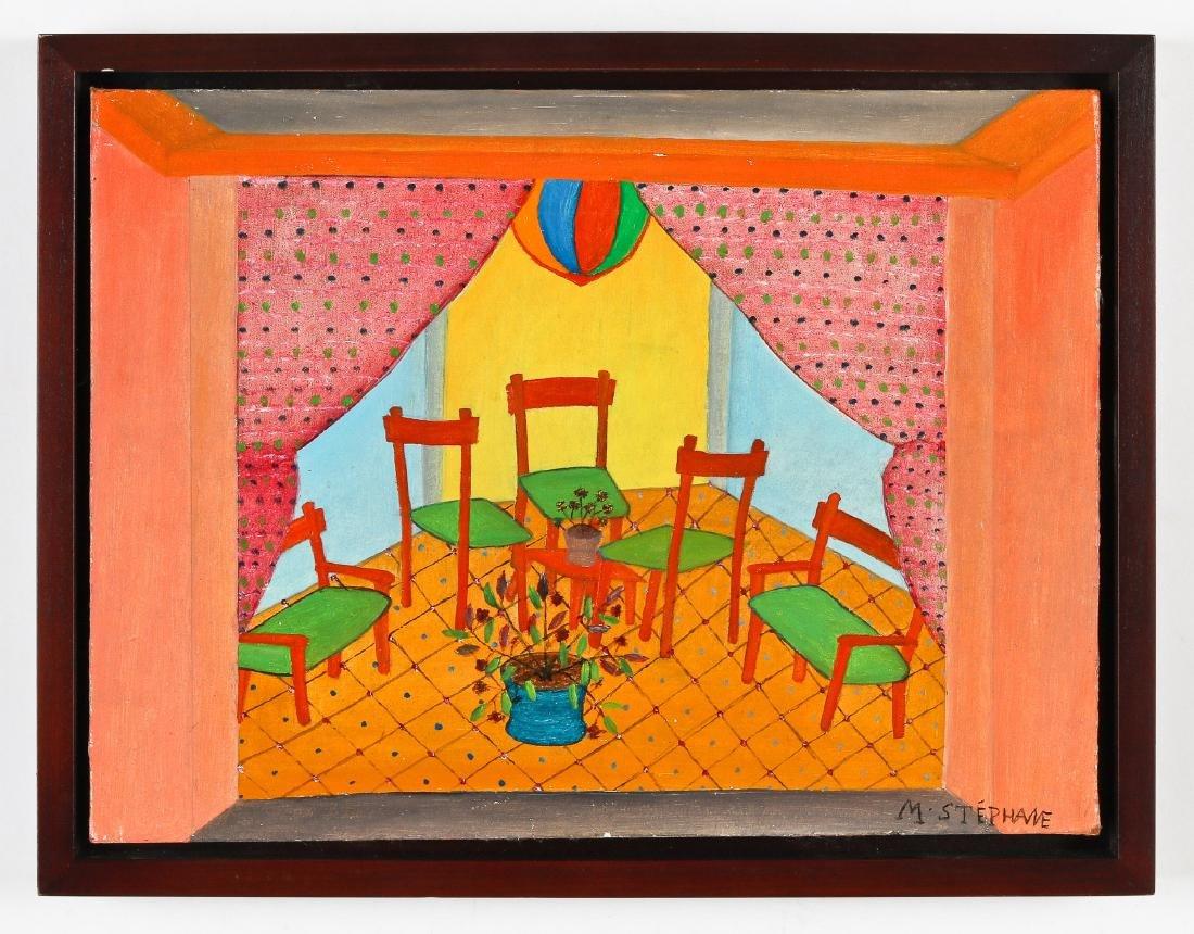 Micius Stéphane (1912-1996) Five Chairs - 2