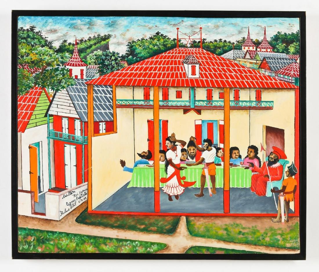 Pauléus Vital (Haitian/Jacmel, 1918-1984) King Herod - 2