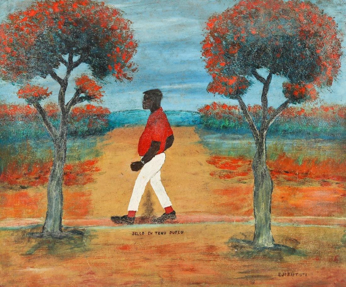 Edger Jean-Baptiste (1917-1992) Bello En Tumu Defeu