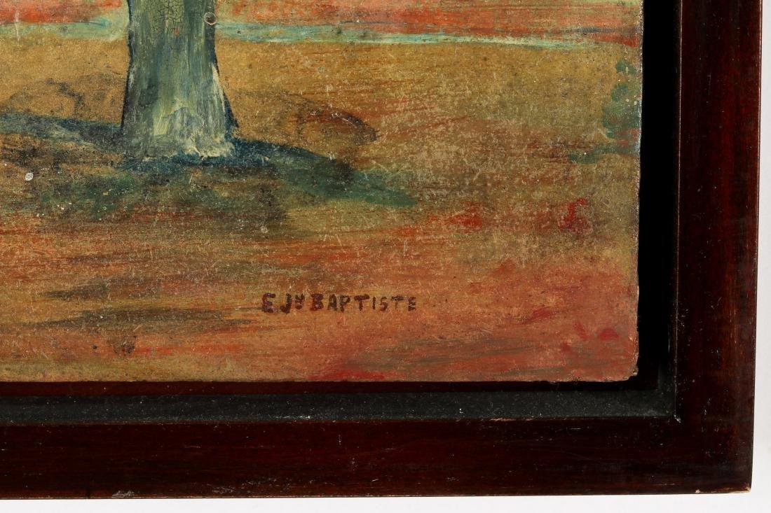 Edger Jean-Baptiste (1917-1992) Bello En Tumu Defeu - 4