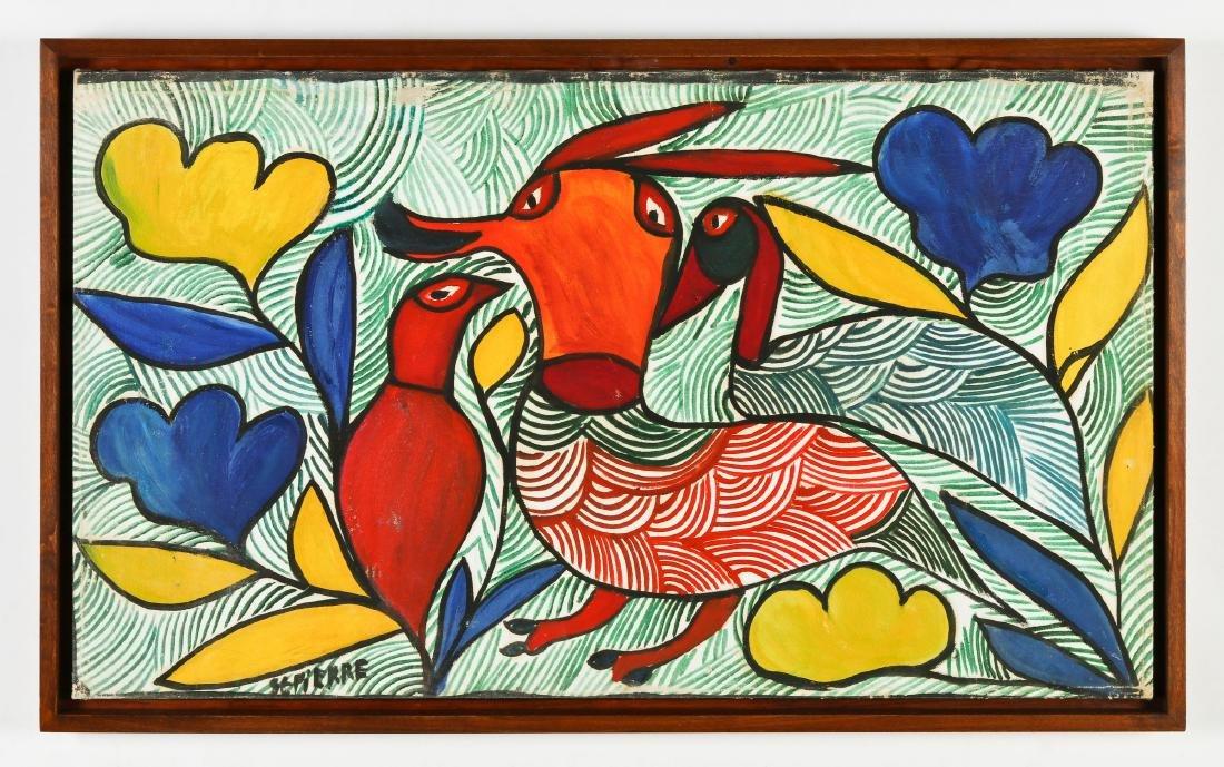 Toussaint St. Pierre (1923-1985) Three Birds - 2