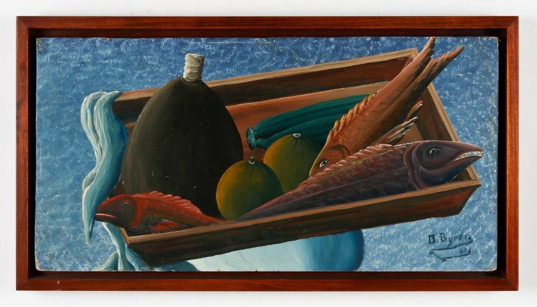 Bourmond Byron (1920-2004) Still Life - 2
