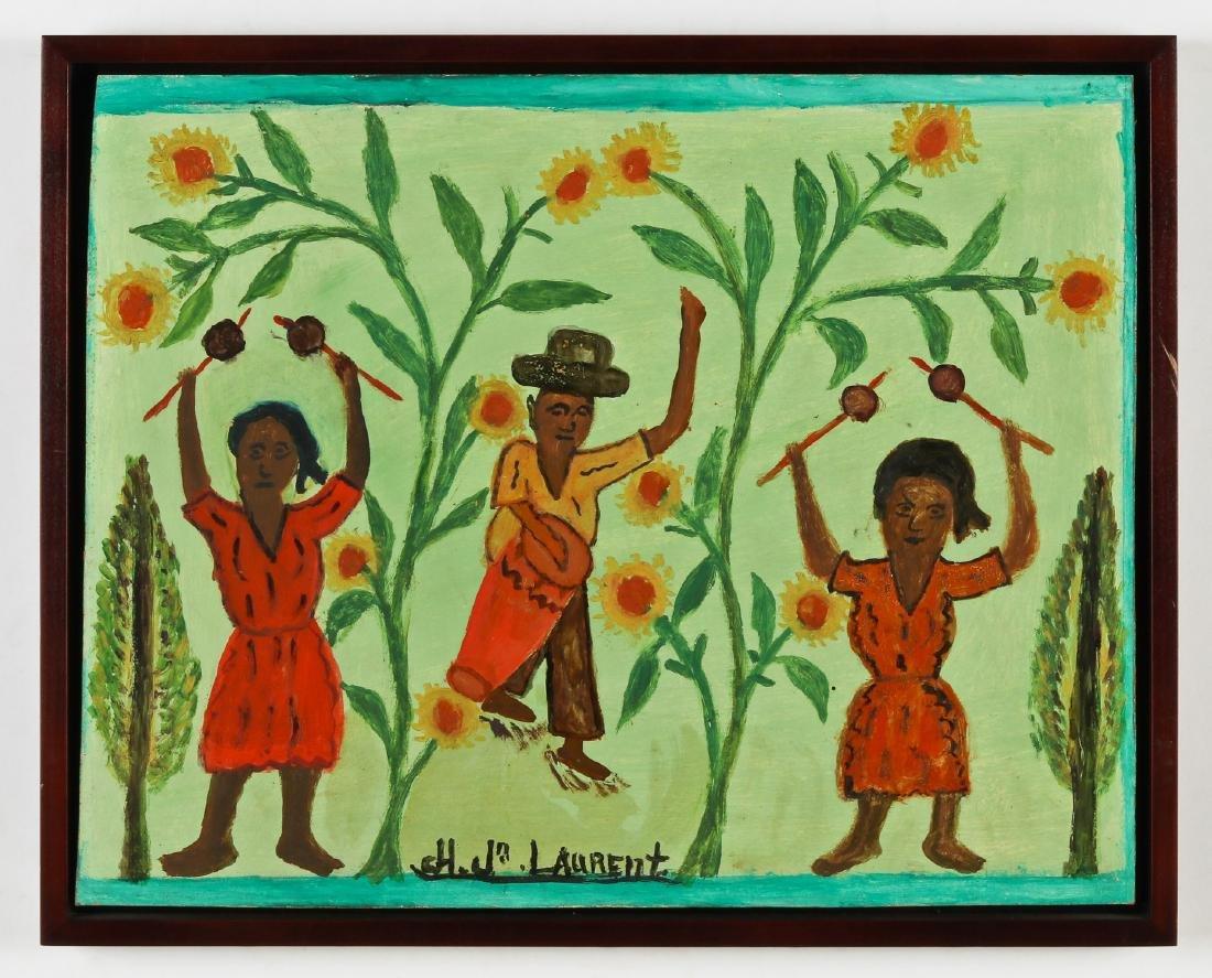 Joseph Jean-Laurent (Haitian/Croix-des-Bouquets, - 2
