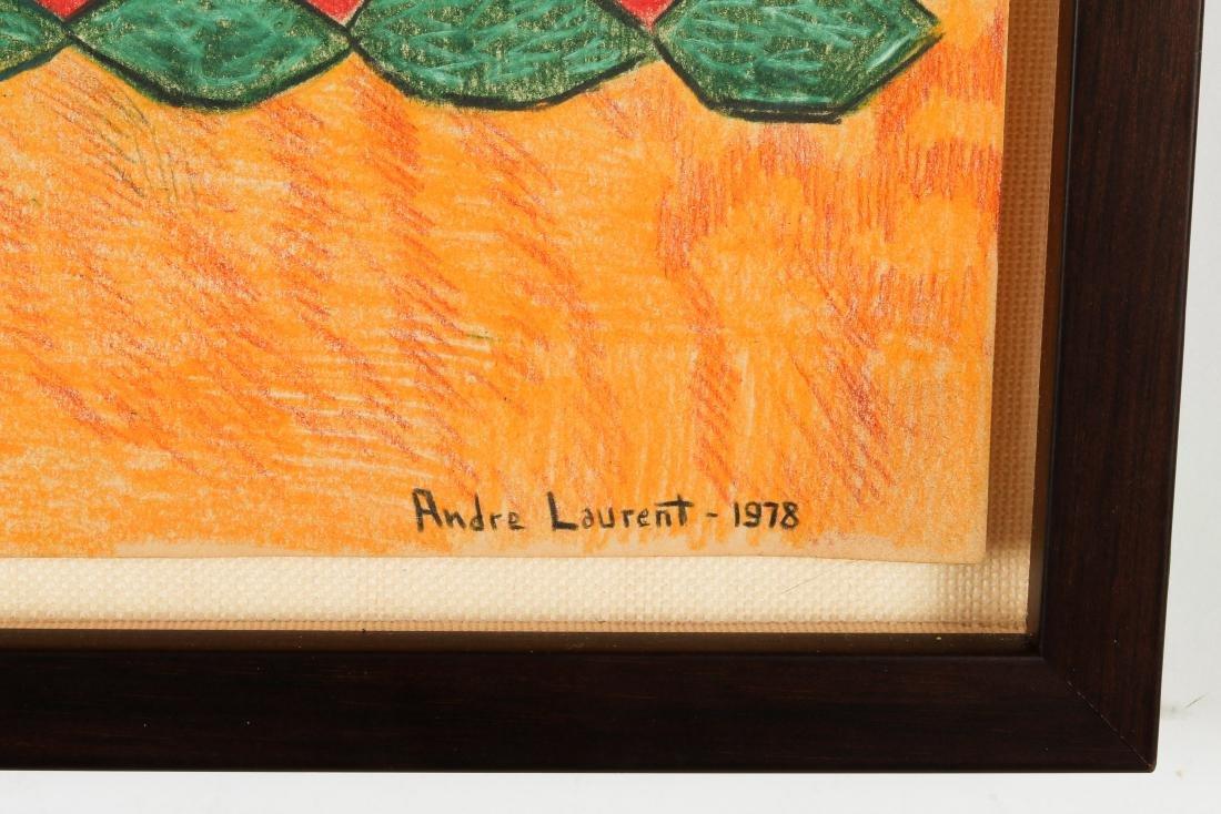 """Andre Laurent (Haitian/Cap-Haïtien, 20th c.) """"Bosou"""" - 3"""