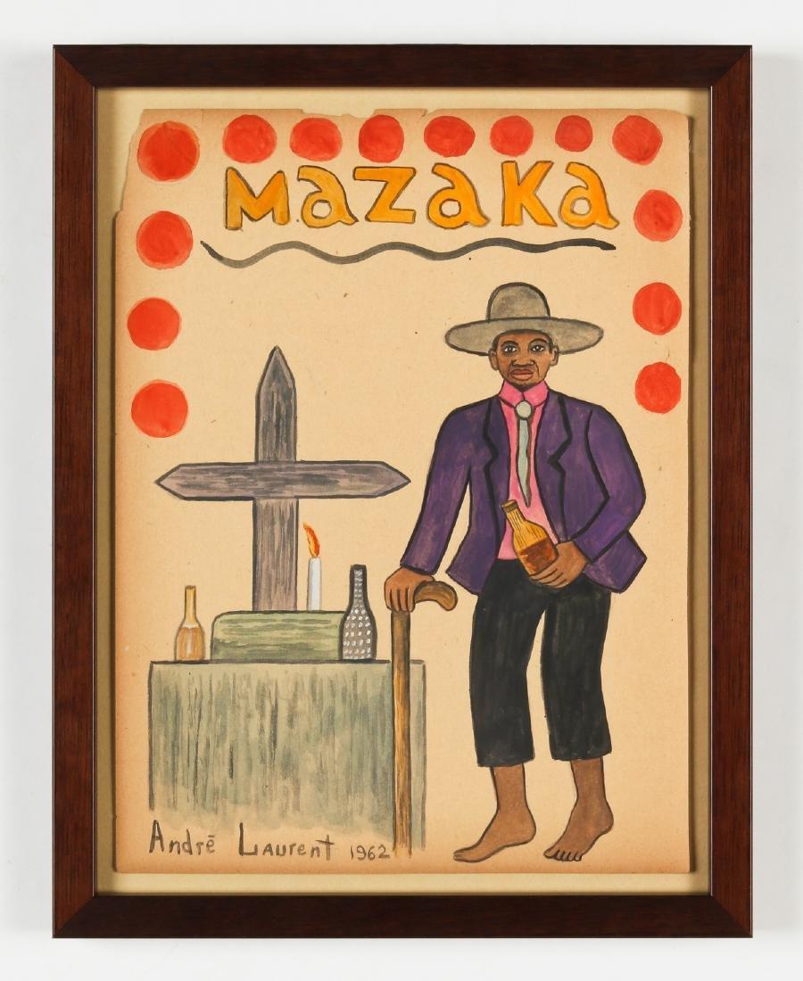Andre Laurent (Haitian, 20th c.) - 2