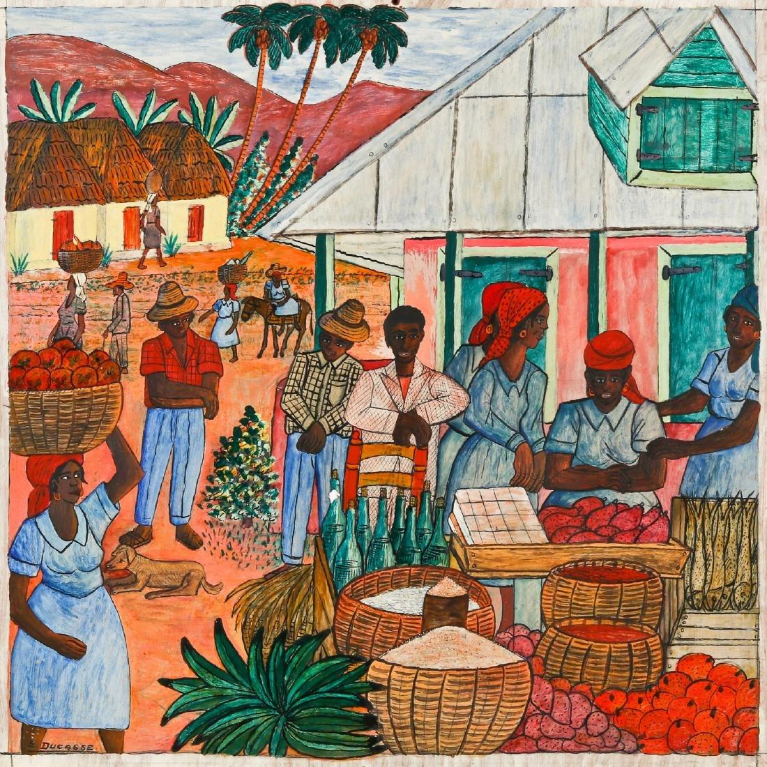 Gervais Emmanuel Ducasse (Haitian/Port-au-Prince,