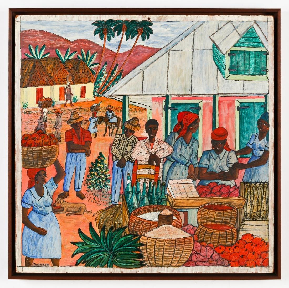 Gervais Emmanuel Ducasse (Haitian/Port-au-Prince, - 2