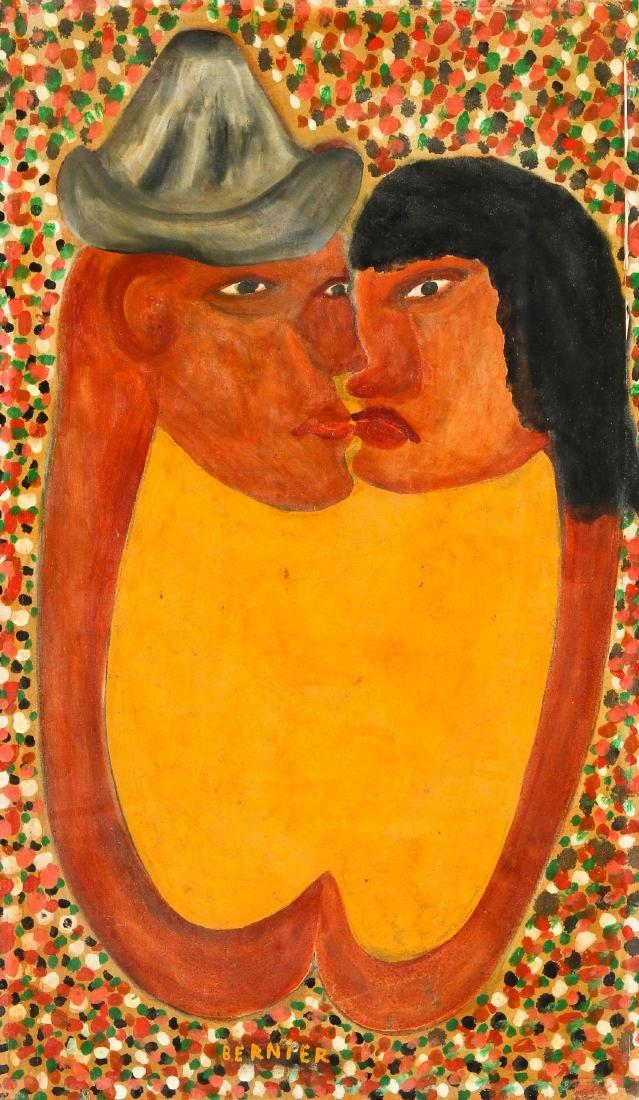 Bernier (Haitian, 20th c.) Lovers