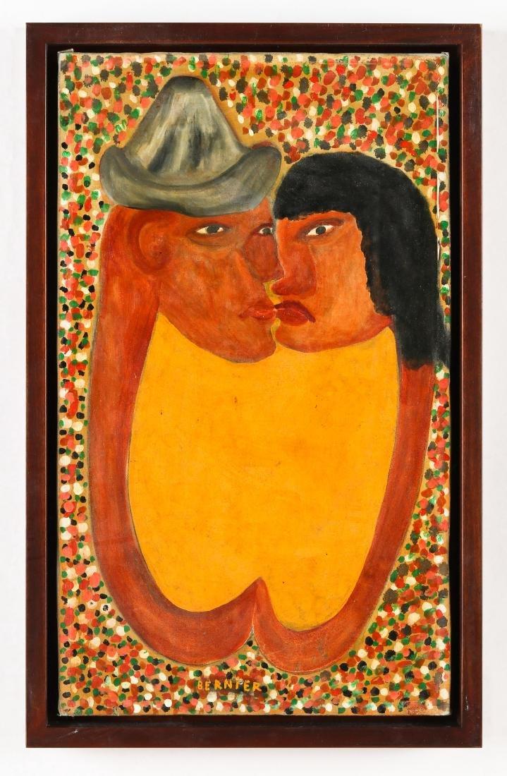 Bernier (Haitian, 20th c.) Lovers - 2