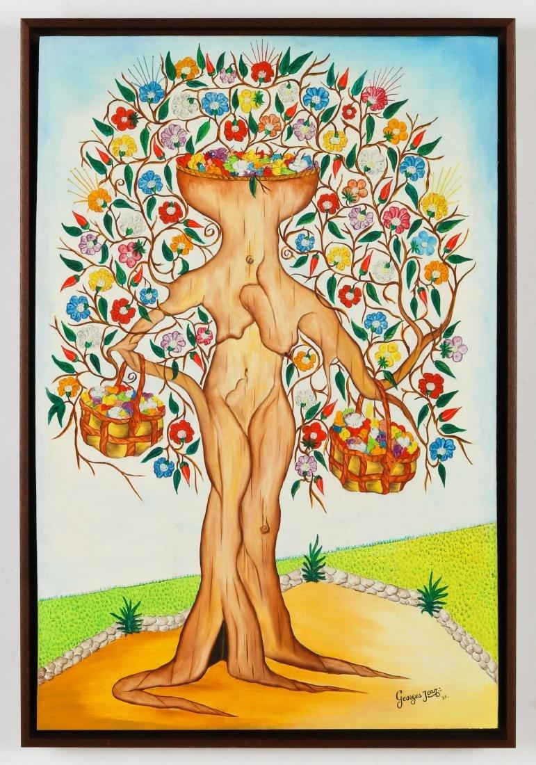 Georges Jean (20th c.) Spirit Tree Festooned in - 2