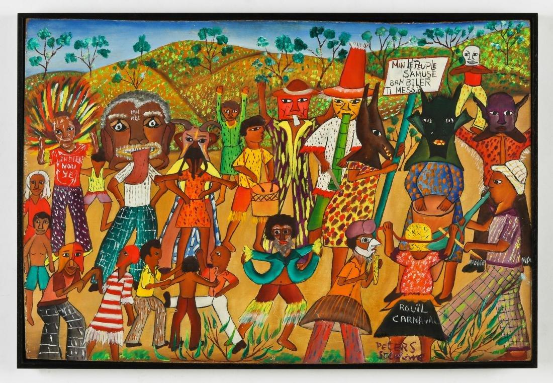 Peters Stephane (Haitian/Bainet, 20th c.) Ra Ra