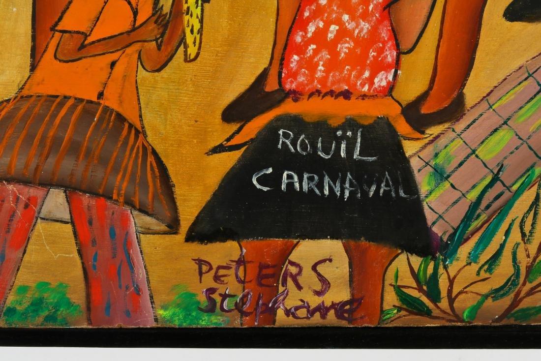 Peters Stephane (Haitian/Bainet, 20th c.) Ra Ra - 4