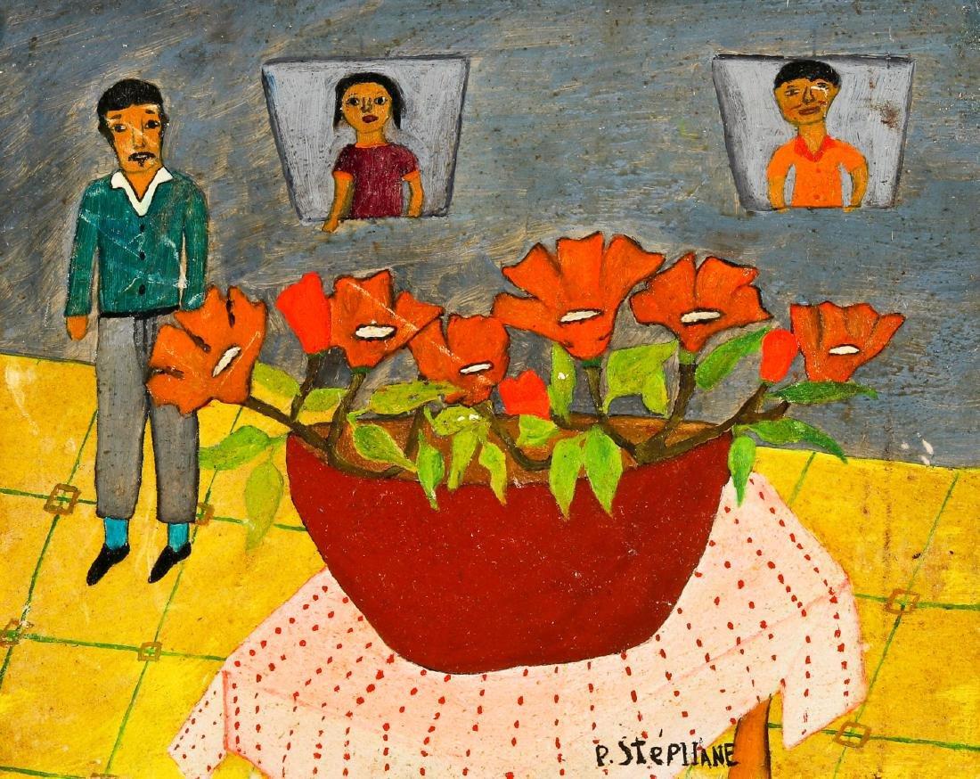 Peters Stephane (Haitian/Bainet, 20th c.) Still Life