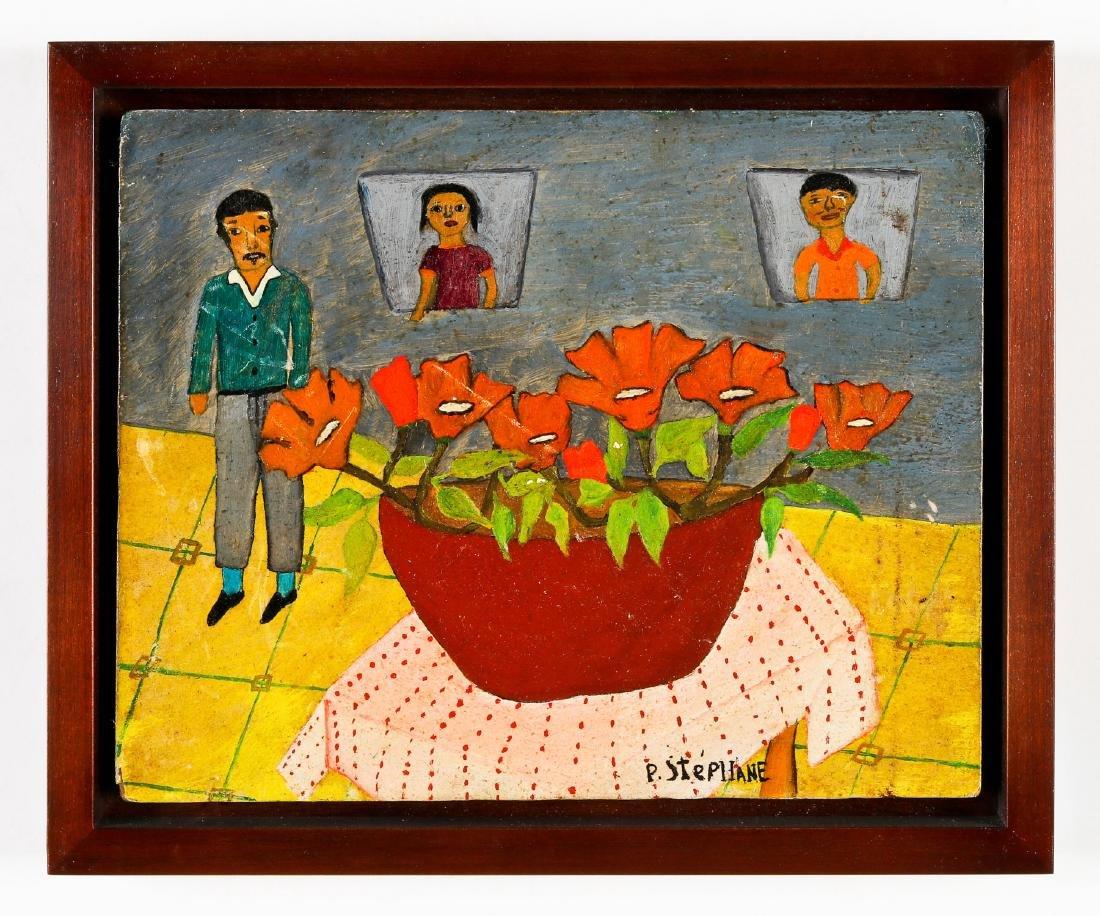 Peters Stephane (Haitian/Bainet, 20th c.) Still Life - 2