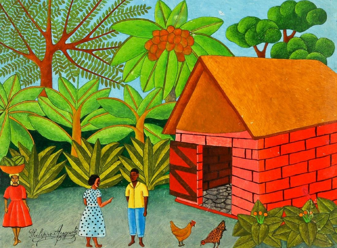"""Salnave Philippe-Auguste (Haitian, 1908-1989) """"The New"""