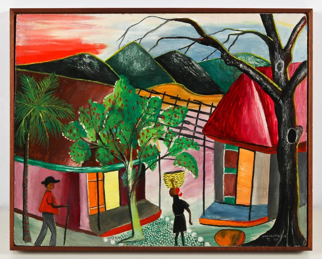 Louines Mentor (Haitian, 20th c.) Sunset, 1969 - 2