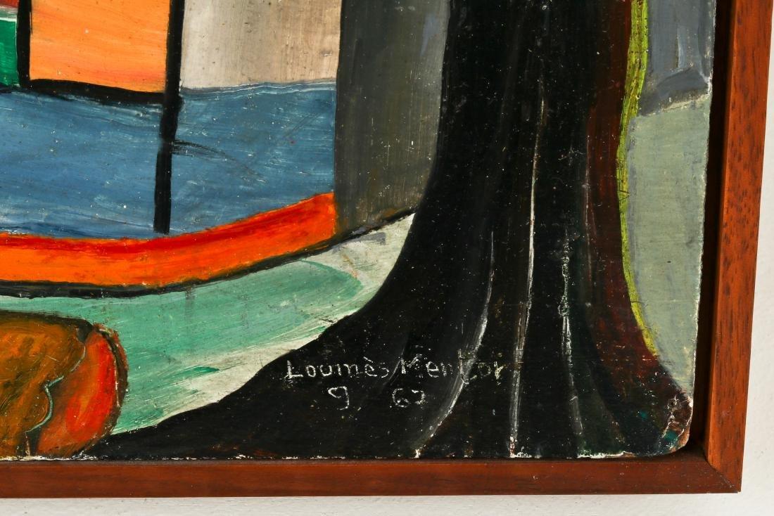 Louines Mentor (Haitian, 20th c.) Sunset, 1969 - 3