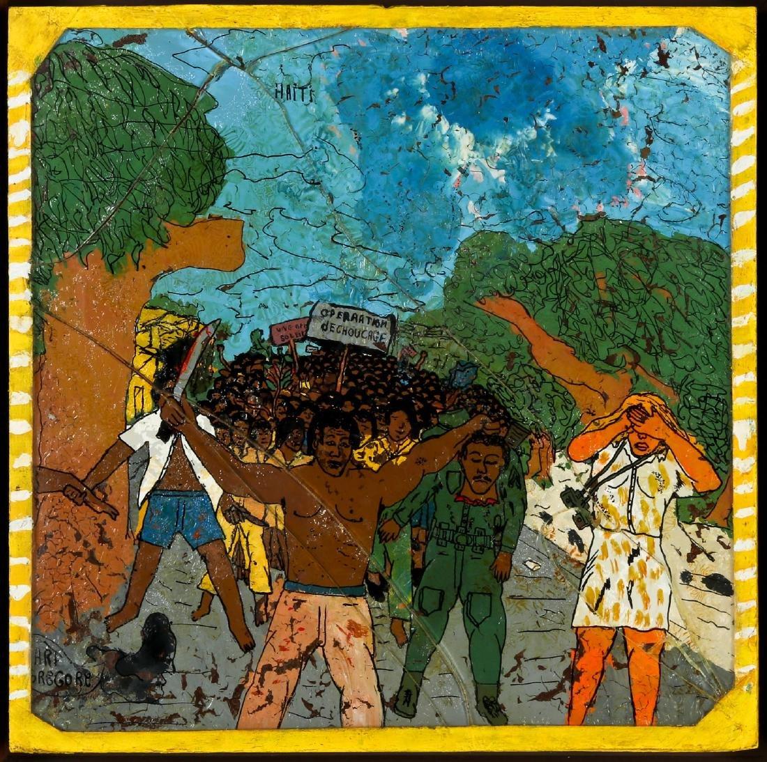 "Gregore (Haitian, 20th c.) ""Operation Dechoucage"""