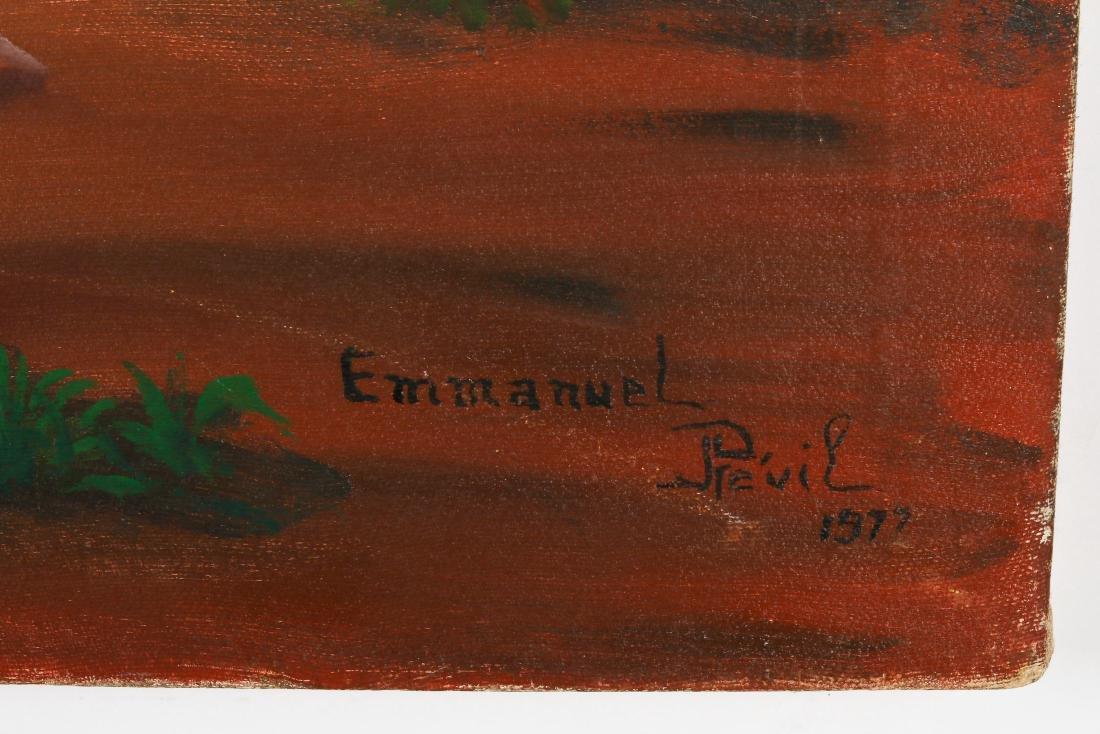 Emmanuel Previl (Haitian, 20th c.) People In Need - 3