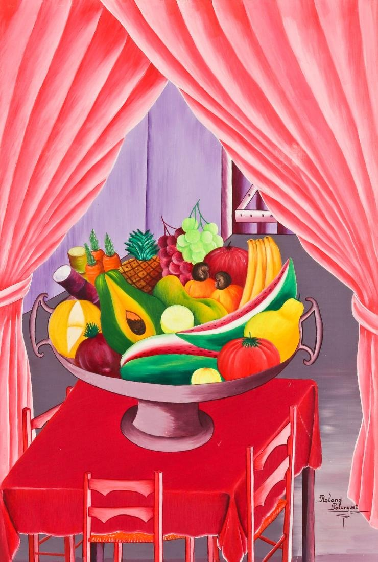 Roland Palanquet (20th c.) Still Life Painting
