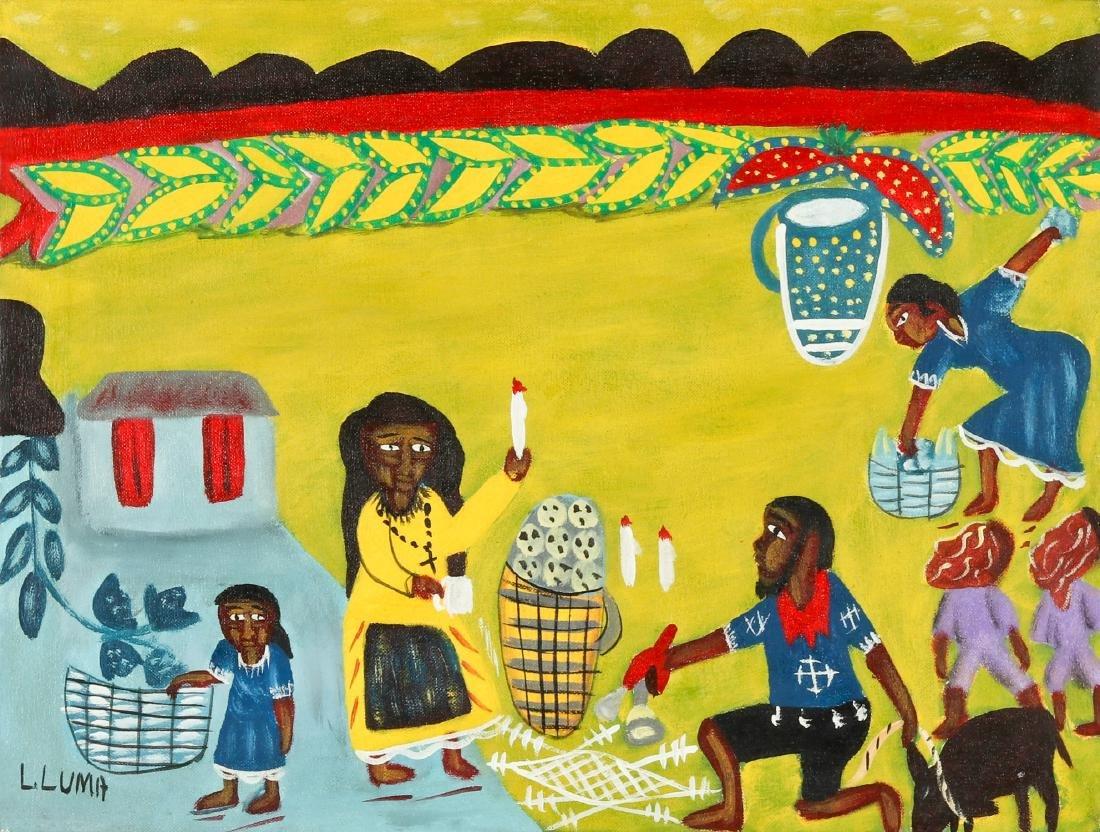 Louis Luma (Haitian/Port au Prince, b. 1950) Vodun