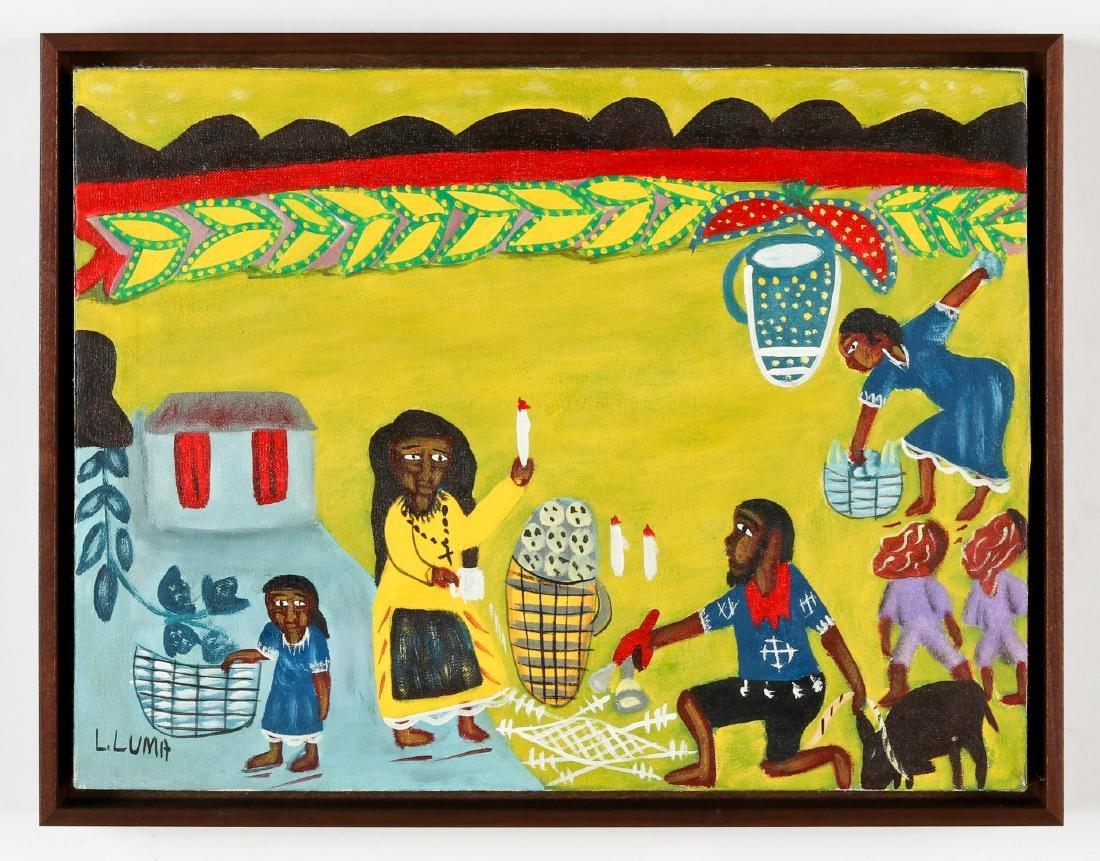 Louis Luma (Haitian/Port au Prince, b. 1950) Vodun - 2