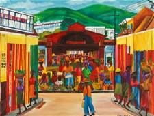 Chavannes (Haitian, 20th c.) Cap-Haïtien Iron Market