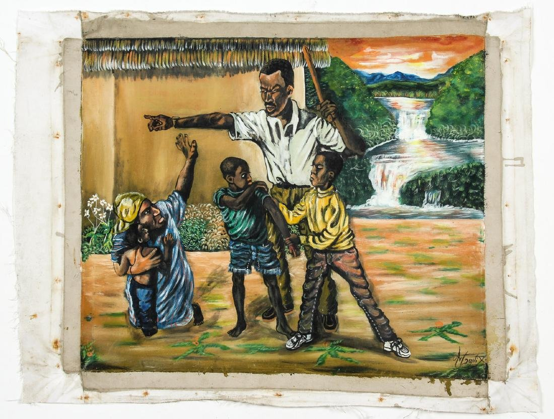 Donix (Haitian, 20th c.) Who Will Be Punished? - 2