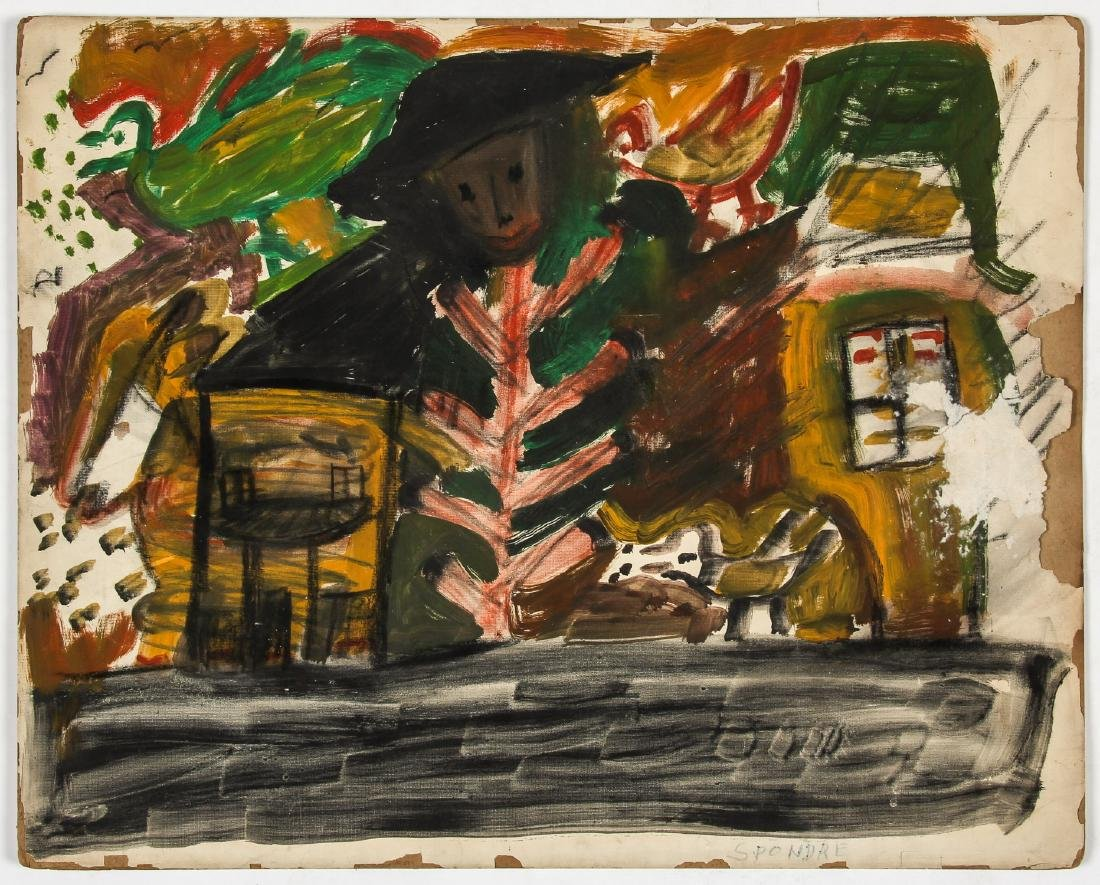 6 Works from The Brooklyn Senior Art Center (1973) - 4