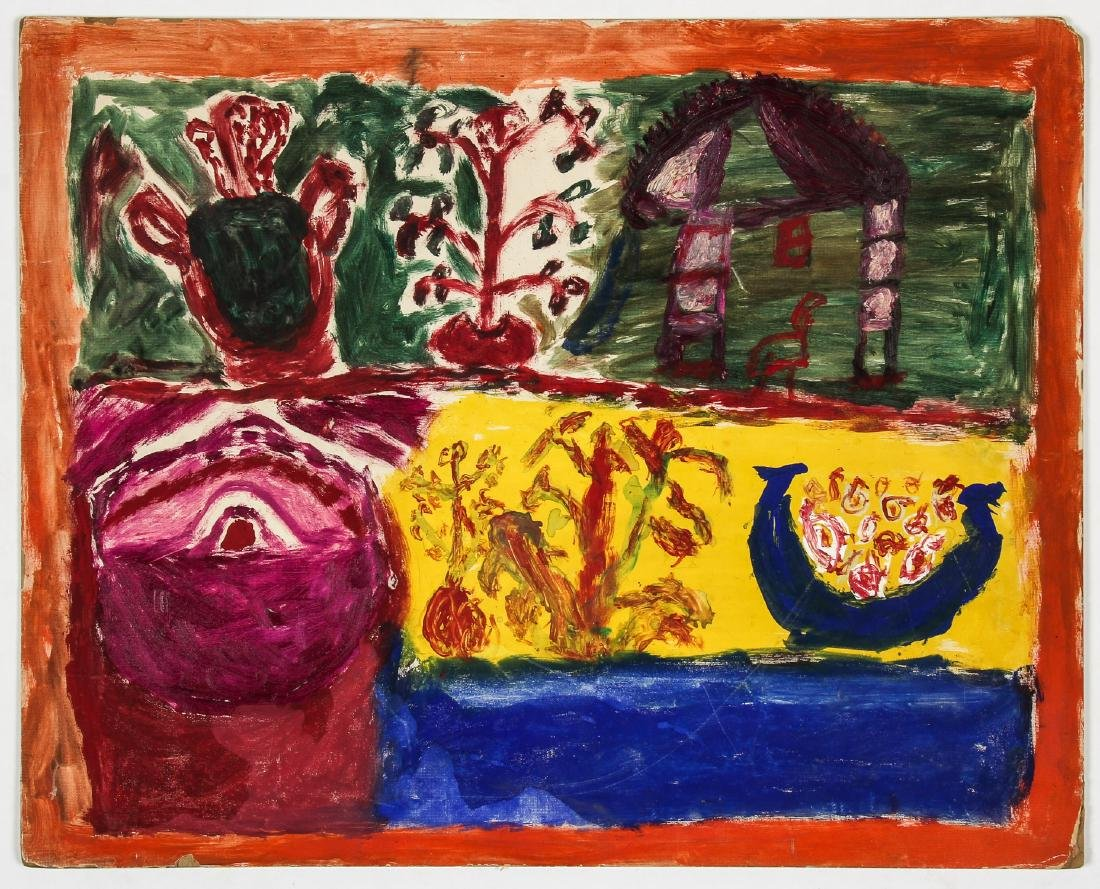 6 Works from The Brooklyn Senior Art Center (1973) - 7