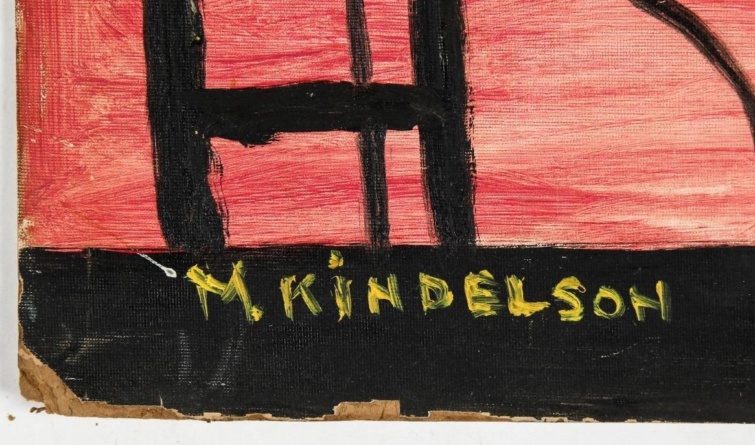 M. Kindelson (American, 20th c.) Pink Interior - 3