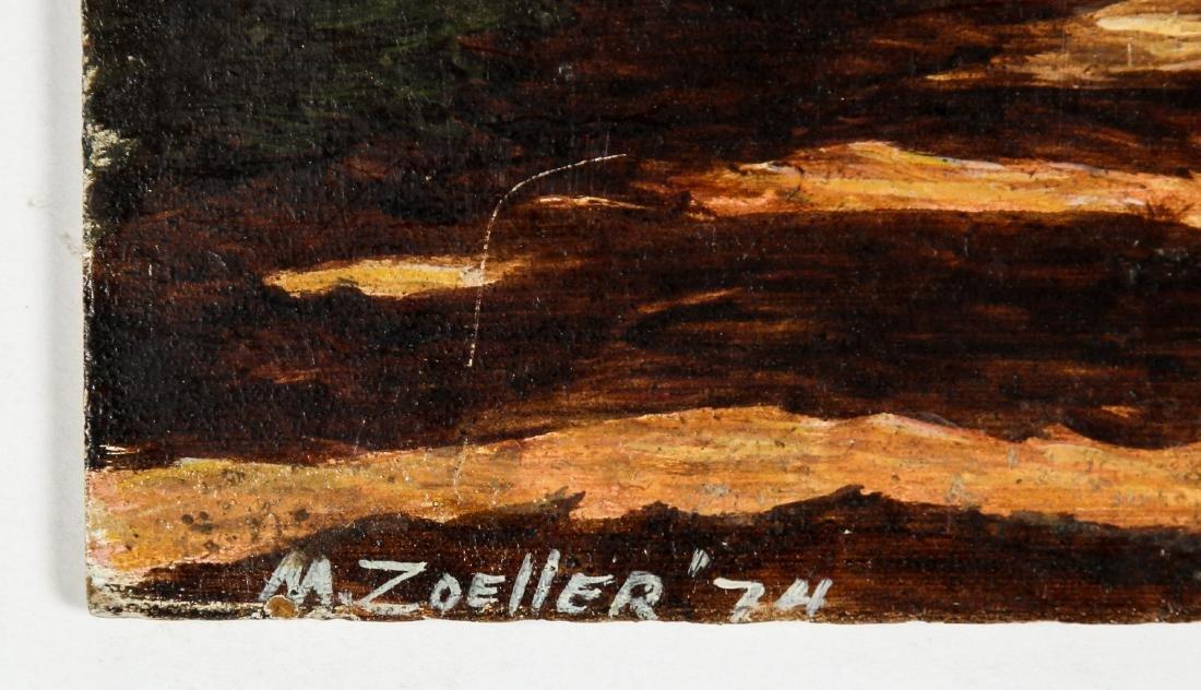 M. Zoeller (American, 20th c.) Autumn Landscape - 3