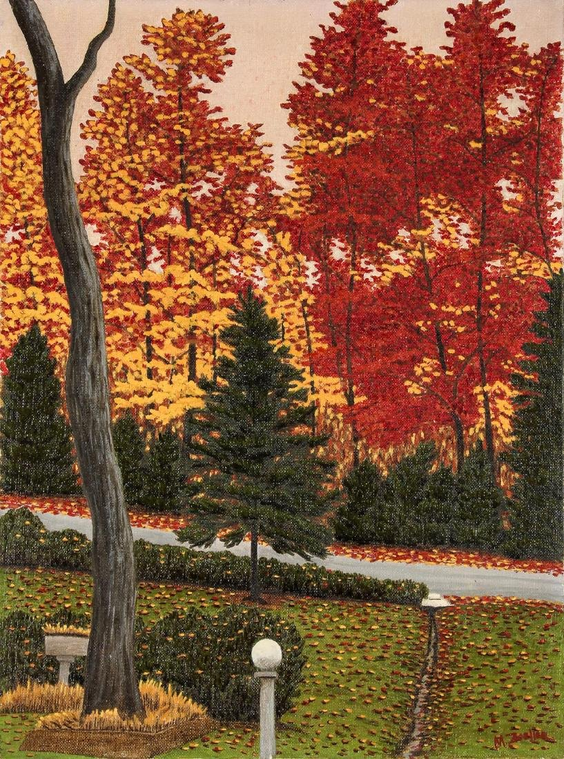 M. Zoeller (American, 20th c.) Autumn Landscape with