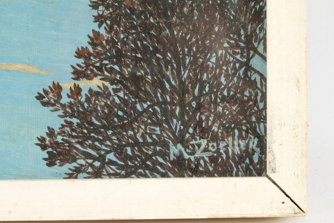 M. Zoeller (American, 20th c.) Winter Landscape - 2