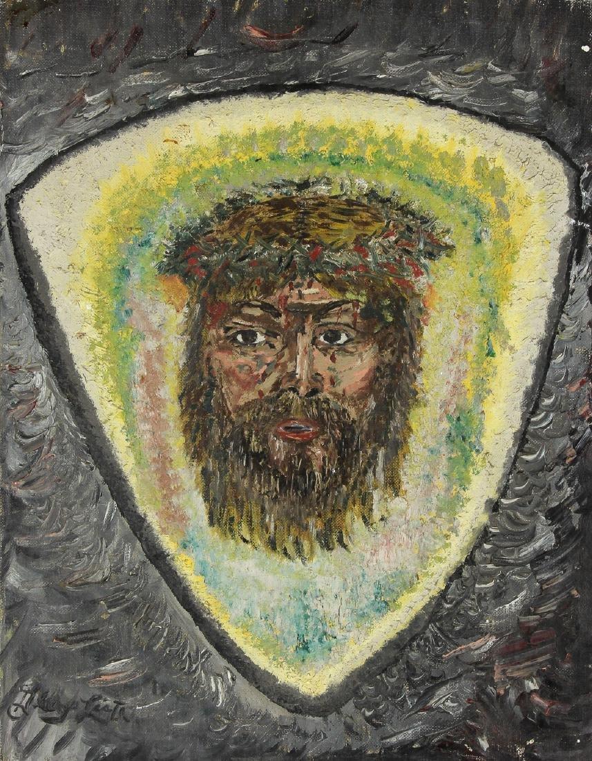 "Unknown Artist (American, 20th c.) ""Jesus"""