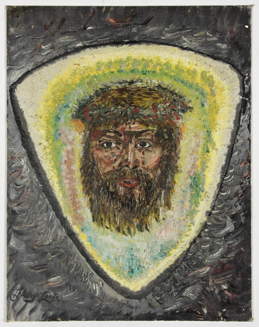 "Unknown Artist (American, 20th c.) ""Jesus"" - 2"