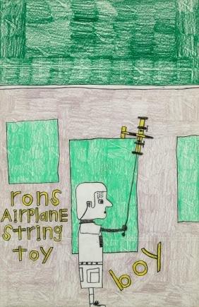 "David Olson (American, 20th c.) ""Rons Airplane String"