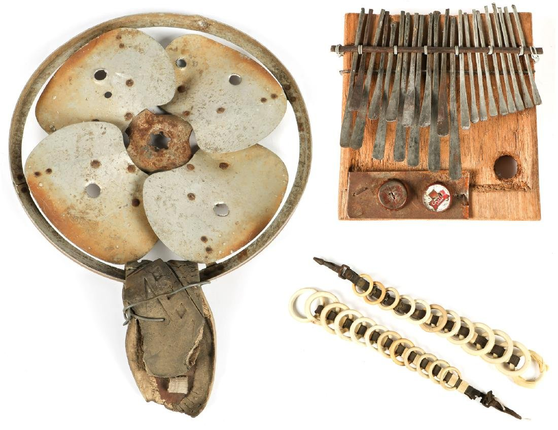3 pc Found Object Art Collection
